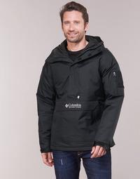 Kleidung Herren Jacken Columbia CHALLENGER PULLOVER Schwarz