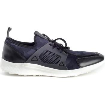 Schuhe Herren Sneaker Low Hobb's MC 35215 Blau