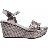 Schuhe Damen Sandalen / Sandaletten Zap-In CT-63 Silbern