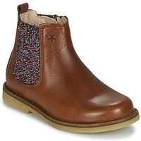 Schuhe Mädchen Boots Acebo's 5274-CUERO Braun