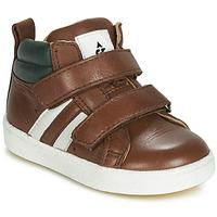 Schuhe Jungen Sneaker High Acebo's 3040-CUERO-C Braun