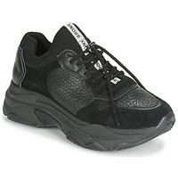 Schuhe Damen Sneaker Low Bronx BAISLEY Schwarz