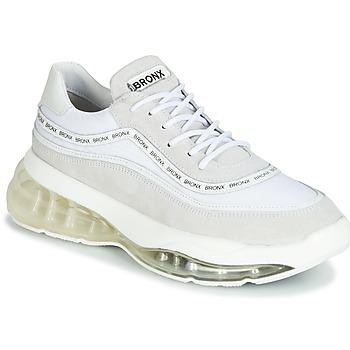 Schuhe Damen Sneaker Low Bronx BUBBLY Weiss