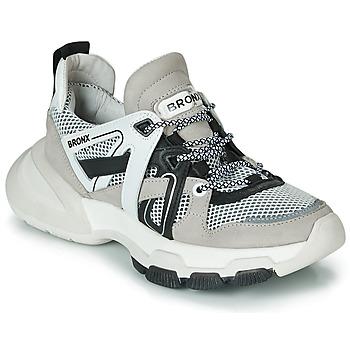 Schuhe Damen Sneaker Low Bronx SEVENTY STREET Grau / Weiss / Schwarz