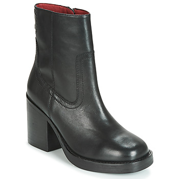 Schuhe Damen Low Boots Bronx BULA VARD Schwarz