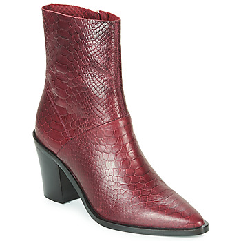 Schuhe Damen Low Boots Bronx NEW AMERICANA LOW Bordeaux