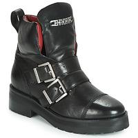 Schuhe Damen Boots Bronx GAMLETT Schwarz