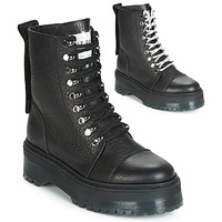 Schuhe Damen Boots Bronx RIFKA SUPER CHUNKY Schwarz