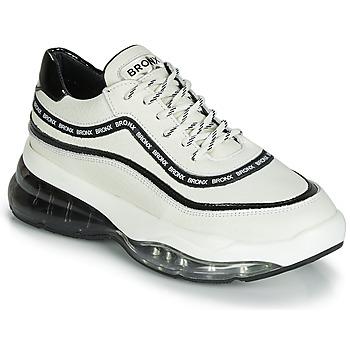 Schuhe Damen Sneaker Low Bronx BUBBLY Weiss / Schwarz