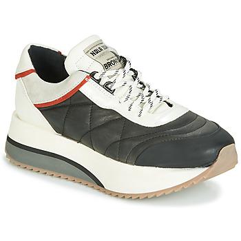 Schuhe Damen Sneaker Low Bronx NOLA ISA Schwarz / Grau