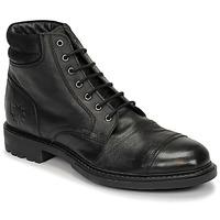 Schuhe Herren Boots Base London REPTON Schwarz
