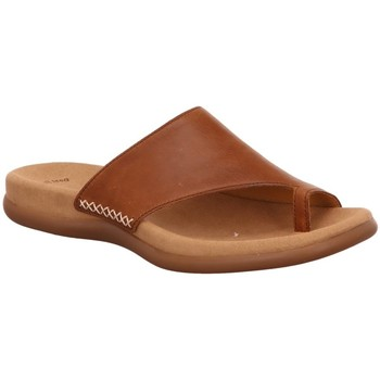 Schuhe Damen Pantoffel Gabor Pantoletten 23.700.24 braun