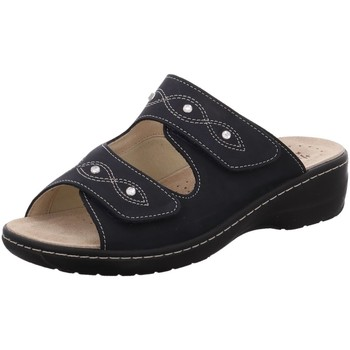 Schuhe Damen Pantoffel Hickersberger Pantoletten 2175-7200 schwarz