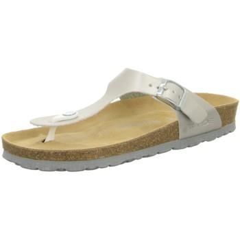 Schuhe Damen Zehensandalen Rohde Pantoletten 5600/89 grau