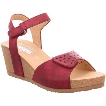 Schuhe Damen Sandalen / Sandaletten Rieker Sandaletten rot