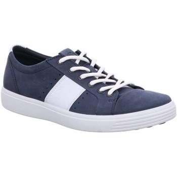 Schuhe Herren Sneaker Low Ecco Soft 7 440334-53326 blau