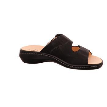 Think Pantoletten CAMILLA 0-888430-0900 schwarz - Schuhe Pantoffel Damen 10995