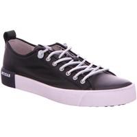 Schuhe Herren Sneaker Blackstone PM66 BLACK PM66 BLACK schwarz