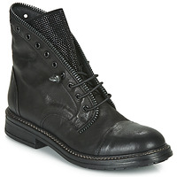 Schuhe Damen Boots Fru.it ADIETE Schwarz