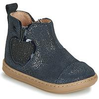 Schuhe Mädchen Boots Shoo Pom BOUBA NEW APPLE Marine