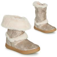 Schuhe Mädchen Boots Shoo Pom PLAY MOOT Silbern