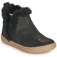Schuhe Mädchen Boots Shoo Pom PLAY YETI Schwarz