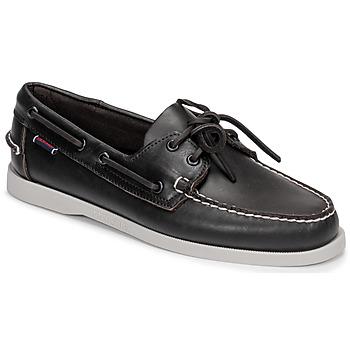 Schuhe Herren Bootsschuhe Sebago DOCKSIDE PORTLAND Braun
