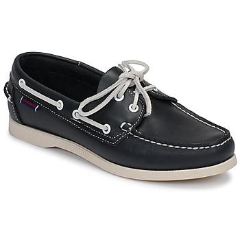 Schuhe Damen Bootsschuhe Sebago DOCKSIDES PORTLAND W Blau