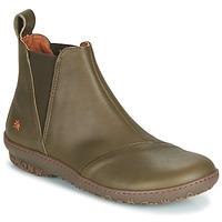 Schuhe Damen Boots Art ANTIBES Kaki