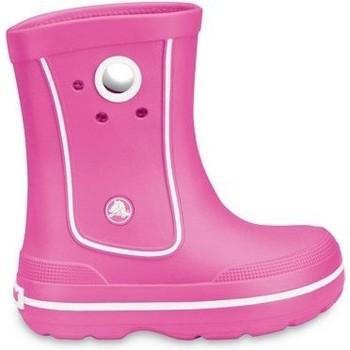 Schuhe Kinder Gummistiefel Crocs™ Crocs™ Kids' Crocband™ Jaunt Bright pink