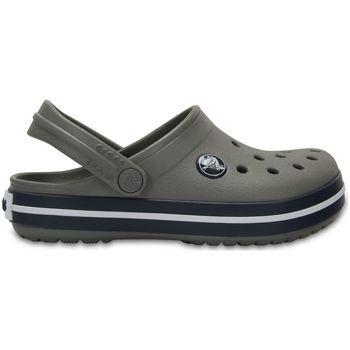 Schuhe Kinder Pantoletten / Clogs Crocs™ Crocs™ Kids' Crocband Clog Smoke/Navy