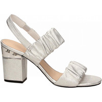 Schuhe Damen Sandalen / Sandaletten What For ALMA silver