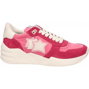 Schuhe Damen Sneaker Low Atlantic Stars VENUS rosso-rosa
