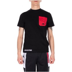 Kleidung Herren T-Shirts Kappa AUTHENTIC BAIAS 902-black-red-white