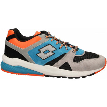 Schuhe Herren Sneaker Low Lotto MARATHON BLOCK 1yd-gray--black-blue