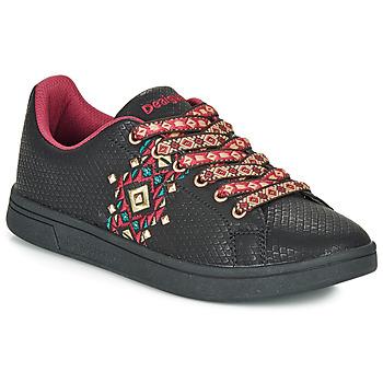 Schuhe Damen Sneaker Low Desigual COSMIC NAVAJO Schwarz