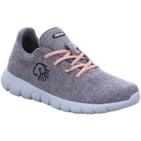 Schuhe Herren Sneaker Low Giesswein Schnuerschuhe MERINO WOOL RUNNERS MEN 6810 49301/017 grau