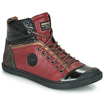 Schuhe Damen Sneaker High Pataugas BANJOU Bordeaux