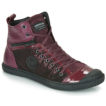 Schuhe Damen Sneaker High Pataugas BANJOU Aubergine