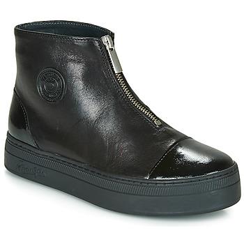 Schuhe Damen Boots Pataugas VALENTINA Schwarz