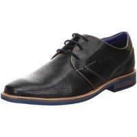 Schuhe Herren Derby-Schuhe Diverse Schnuerschuhe Rafo Exko Light schwarz