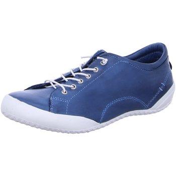 Schuhe Damen Sneaker Low Andrea Conti Schnuerschuhe 0340559-274 blau