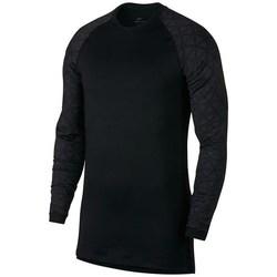 Kleidung Herren Langarmshirts Nike Utility Therma Schwarz