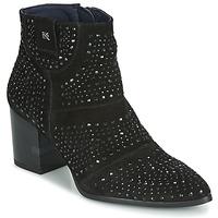 Schuhe Damen Low Boots Dorking LESLY Schwarz