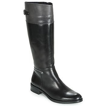 Schuhe Damen Klassische Stiefel Dorking TIERRA Schwarz / Grau