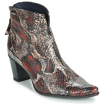 Schuhe Damen Low Boots Dorking GRANADA Reptil