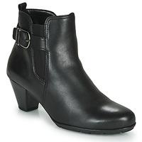 Schuhe Damen Low Boots Gabor 3564127 Schwarz