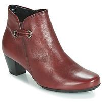 Schuhe Damen Low Boots Gabor 3282758 Rot