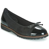 Schuhe Damen Ballerinas Gabor 3410037 Schwarz
