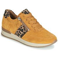 Schuhe Damen Sneaker Low Gabor 3342010 Senf